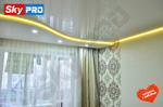 rgb светодиодная лента на потолке отзыв