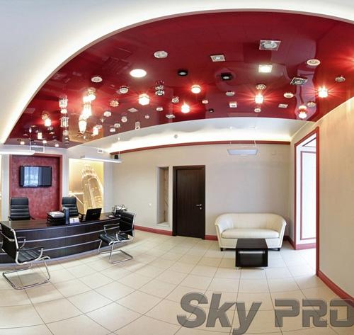 светильники в офисе SkyPRO в Пестово